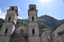 Hidden churches of Kotor.