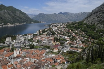 Views on the Bay of Kotor.