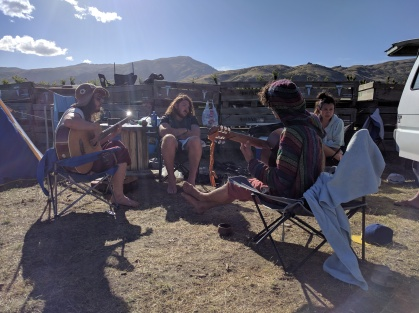 Chill & Music at Camp Cherry.