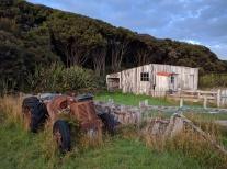 Former farming in Mason Bay.