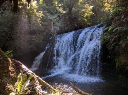 Waipohatu Falls, Catlins.