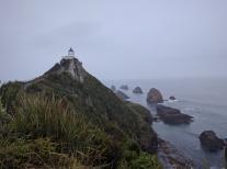 Rainy Nugget Point.