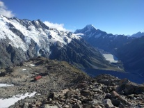Mount Cook from Mount Ollivier.