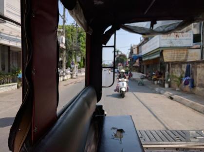 Songthaew ride.