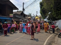 Celebrations in Pai.