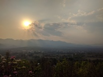 Sunset in Pai.