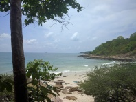 Our private beach Ao Nuan on Ko Samet island.